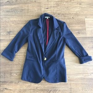 Charlotte Russe Navy Blazer Size Small