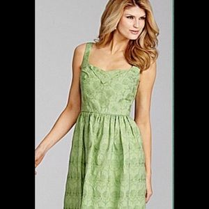 Beautiful mint green embroidered dress