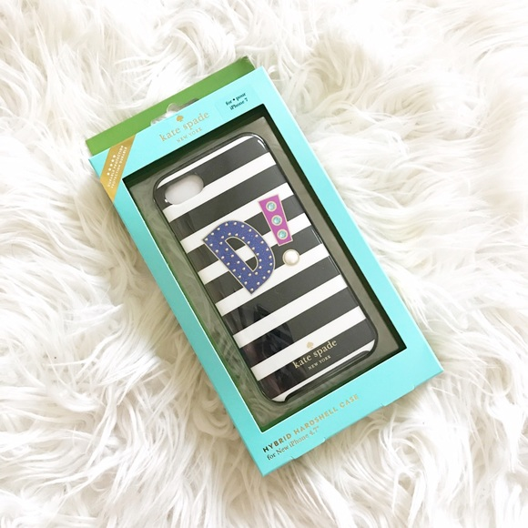 41052378cf3f3 Kate Spade New York initial D iphone 7 case