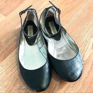 Steve Madden Ankle Strap Flats