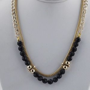 Bead & Chain necklace