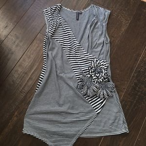 Anthropologie striped tank small