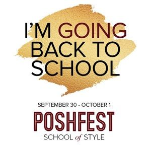 Attending PoshFest? Let your friends know!