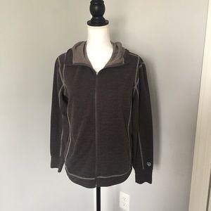 Kuhl Jackets & Blazers - Kuhl Gray Zip Up Hoodie Jacket