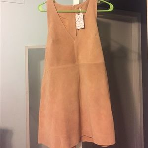 Free people suede dress