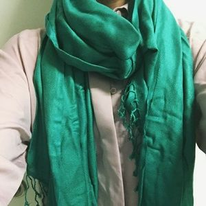 Ashley Cooper Accessories - 🌸🌸🌸Ashley Cooper Green Scarf🌸🌸🌸