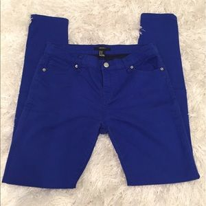 Forever 21 Pants - ROYAL BLUE • JEANS
