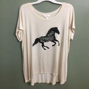 Sun and Shadow Tops - EUC Sun & Shadow Loose Fitting Shirt, L