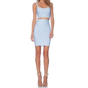 Asilio Dresses & Skirts - ASILIO Sky High Top and Skirt Set in Blue