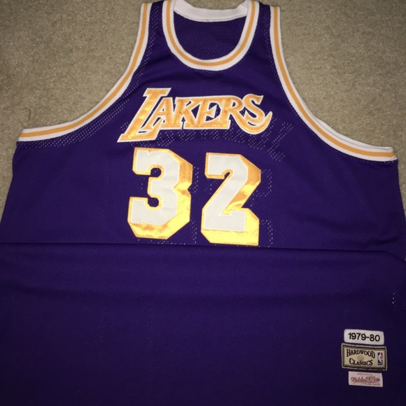 d9d5dfddafd Mitchell & Ness Other | Magic Johnson Mitchell Ness Nba Jersey ...