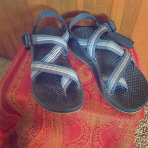 Chacos Shoes - Chaco's Blue purple Chaco shoes hiking Nike