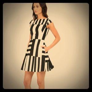 Kate Spade Stripe Bow Back Dress