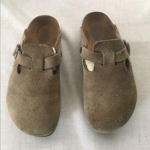 Birkenstock Shoes - Birkenstock Boston Taupe Sz 36/5-5.5