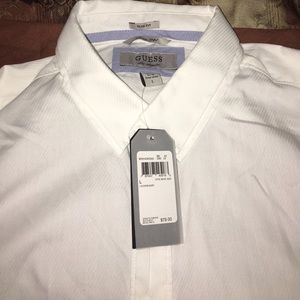 Brand New Guess Button Down - L