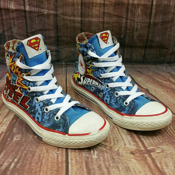 c8208c729f1b Converse Other - CONVERSE CT All Star DC Comics SUPERMAN Sz 1Y