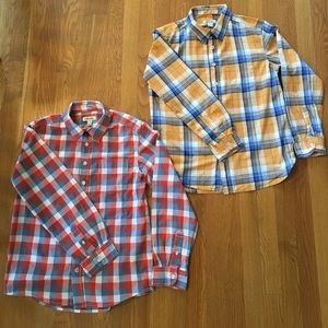 Cherokee Other - Bundle of 2 Cherokee Boys Button Down Plaid Shirts