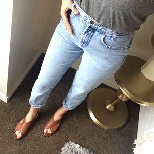 Karen Kane Denim - Vintage High Waisted Mom Jeans Karen Kane