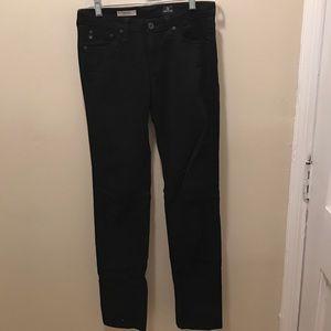 AG Adriano Goldschmied Denim - AG black cigarette jeans