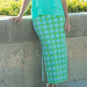 All For Color Dresses & Skirts - All For Color Carlyle Ave Maxi Skirt