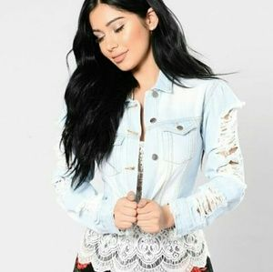 Fashion Nova Jackets & Blazers - 🆕Happy Ever After Denim Jacket