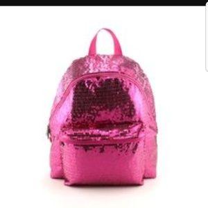 dollskill Handbags - Pink glitter backpack