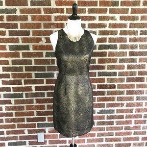 Jack by BB Dakota Dresses & Skirts - Jack By BB Dakota Black Gold Metallic Dress