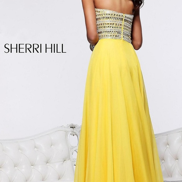50 off sherri hill dresses amp skirts sherri hill long