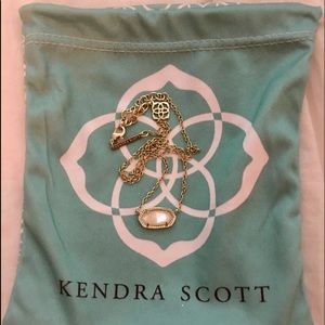 Mother of Pearl Kendra Scott Necklace
