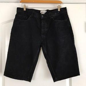 Topman Other - Topman Black Skinny Shorts