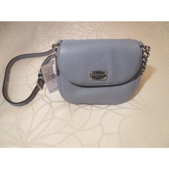 93d5d65d4992 💥NWT MICHAEL KORS Bedford Flap Leather Crossbody