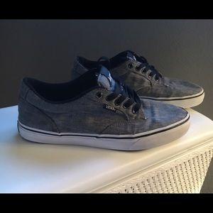 Vans Other - 💥Vans tennis shoes, fabric, grey