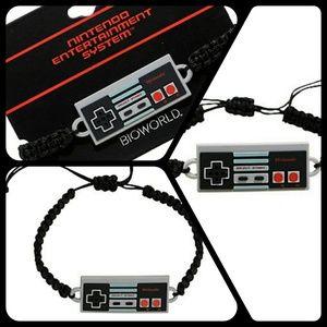 Nintendo Jewelry - Nintendo cord bracelet