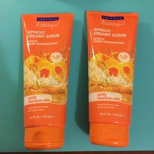 (2) Freeman Apricot🍑 Creamy Scrub Cleanser Bundle