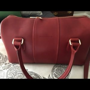 Horween Red Leather Duffle