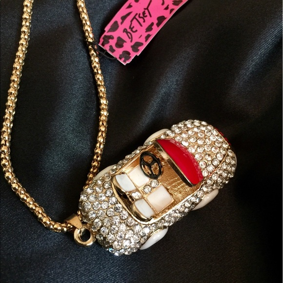 75% off Betsey Johnson Jewelry - Betsey Johnson car necklace from ...