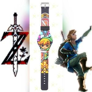 Nintendo Other - The Legend of Zelda LED watch