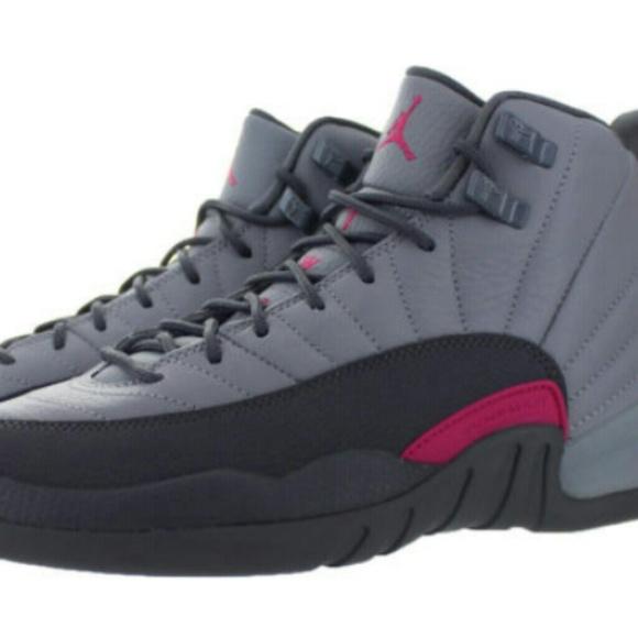 quality design 9ecff 34fc6 Jordan retro 12 wolf grey & pink