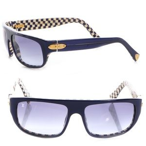 5ce601cdcf3 ... Louis Vuitton checkered Sunglasses