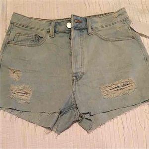 Pants - H&M Denim Shorts