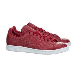 adidas Other - Adidas Stan Smith Red Snakeskin