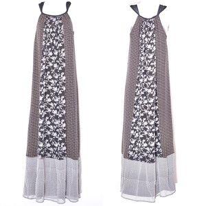 Joie Blue Floral Maxi Dress