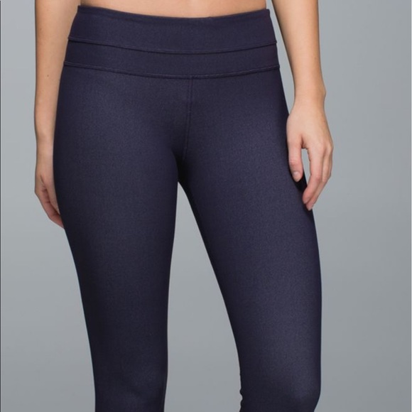 39ee232b6 lululemon athletica Pants - Lululemon skinny groove black grape denim 10