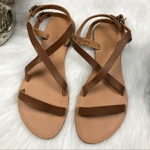 Joie brown SOCOA la playa gladiator sandals