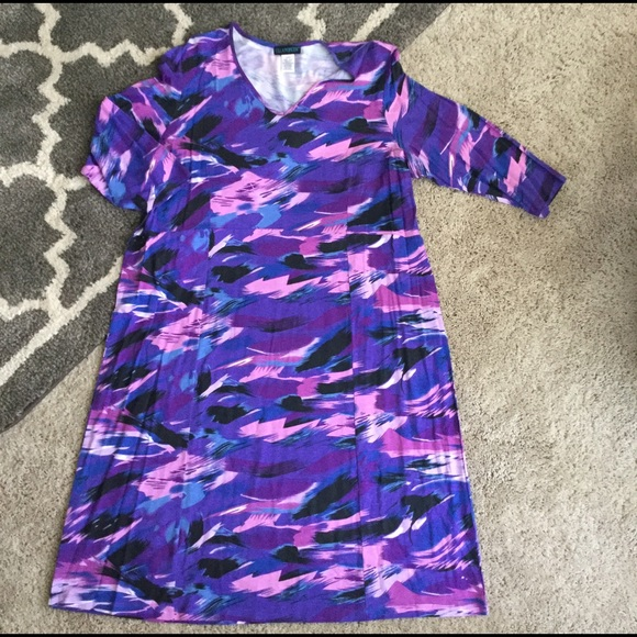 Ulla Popken Dresses - Colorful Ulla Popkin Dress