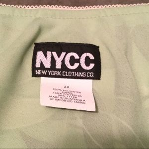 New York Clothing Company Skirts - Tropical Green Skirt