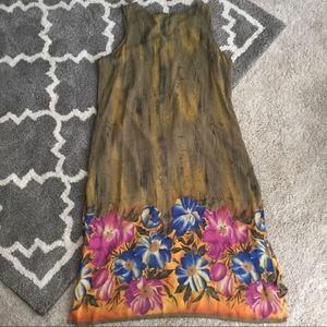 Mlle Gabrielle Dresses - Tropical Tank Dress