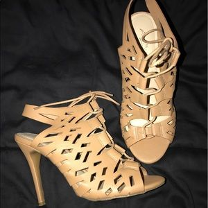 Ann Michell Shoes - Ann Michell Lace up Heels