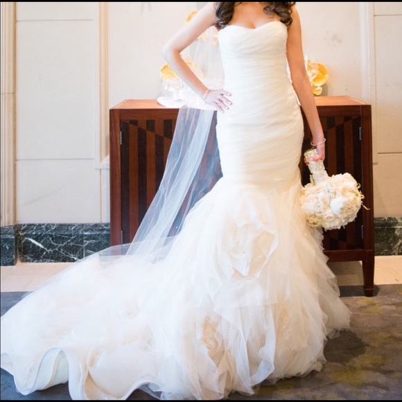 4a90cd6388 Vera Wang Dresses | Gemma Wedding Dress | Poshmark