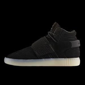 Adidas Shoes - NWOT ADIDAS TUBULAR INVADER STRAP Black Ice.Size 6 dc24a9b83
