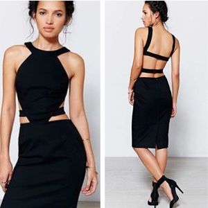 Asilio Dresses & Skirts - Sexy black cutout dress LBD